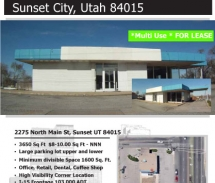 2275 N Main Street, Sunset Utah