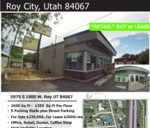 5973-5975 South 1900 West, Roy, UT - For Sale